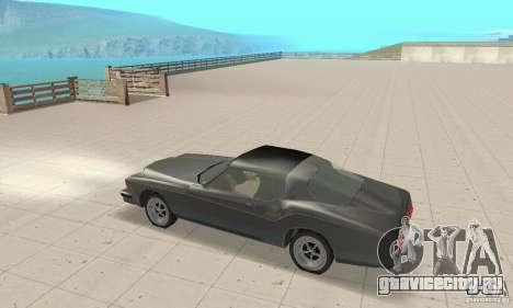 Buick Riviera 1973 для GTA San Andreas вид сзади