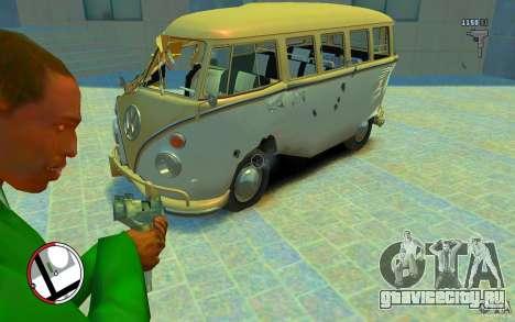 Volkswagen T1 Bus 1967 для GTA 4