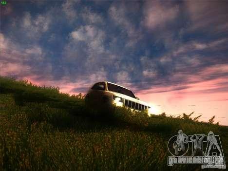 Jeep Grand Cherokee 2012 v2.0 для GTA San Andreas вид изнутри
