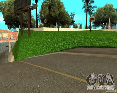 HQ Баскетбольная площадка для GTA San Andreas четвёртый скриншот