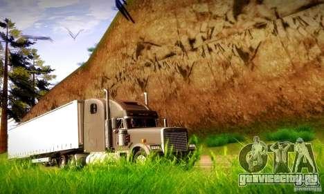 Freightliner Classic XL для GTA San Andreas вид сзади