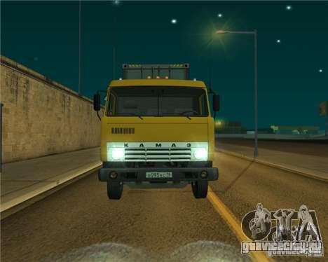 КамАЗ 54112 для GTA San Andreas вид слева