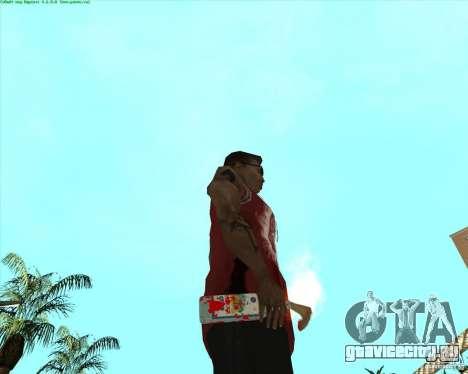 Blood Weapons Pack для GTA San Andreas одинадцатый скриншот