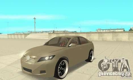 Toyota Camry Tuning 2010 для GTA San Andreas