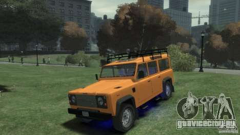 Land Rover Defender Station Wagon 110 для GTA 4