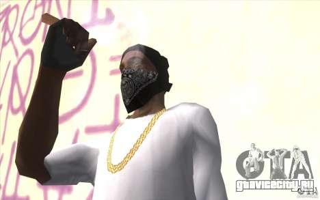 Перчатки без пальцев v2 для GTA San Andreas