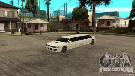 Sultan лимузин для GTA San Andreas вид сзади