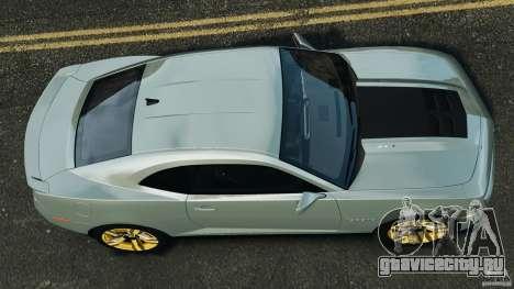 Chevrolet Camaro ZL1 2012 v1.2 для GTA 4 вид справа