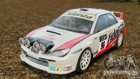 Subaru Impreza WRX STI N12 для GTA 4