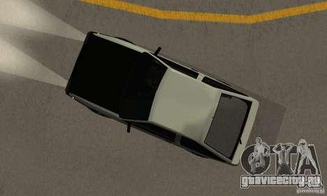 Toyota Sprinter Trueno GT-APEX AE86 83 Initial D для GTA San Andreas вид сзади