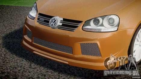 Volkswagen Golf R32 v2.0 для GTA 4 вид сбоку