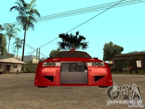 ВАЗ 2112 Red Devil для GTA San Andreas вид справа