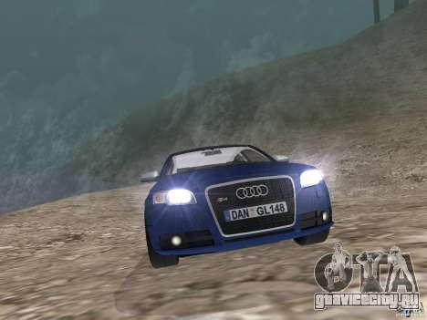 Audi S6 для GTA San Andreas вид справа