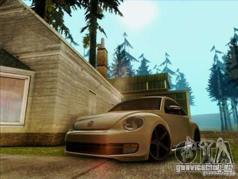 Volkswagen New Bettle 2013 Edit для GTA San Andreas