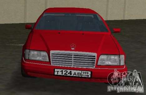 Mercedes-Benz E 320 (C124) для GTA Vice City вид справа