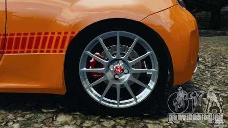 Fiat 500 Abarth для GTA 4 вид сверху