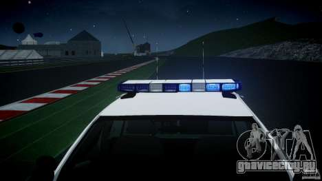Ford Crown Victoria US Marshal [ELS] для GTA 4
