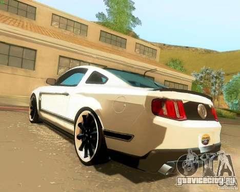 Ford Mustang Boss 302 2011 для GTA San Andreas вид слева