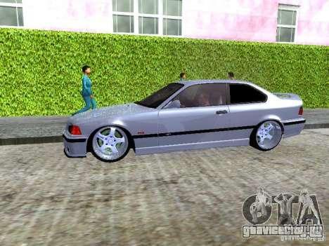 BMW M3 E36 Light Tuning для GTA San Andreas вид изнутри