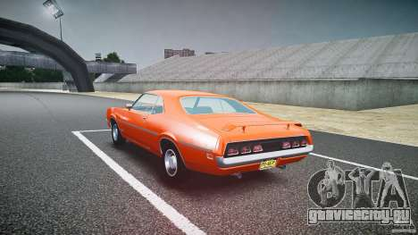Mercury Cyclone Spoiler 1970 для GTA 4 вид сбоку