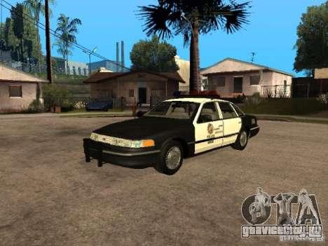 Ford Crown Victoria 1994 Police для GTA San Andreas