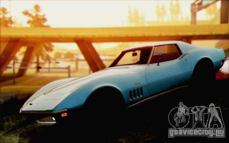 Chevrolet Corvette C3 Stingray T-Top 1969 для GTA San Andreas вид справа