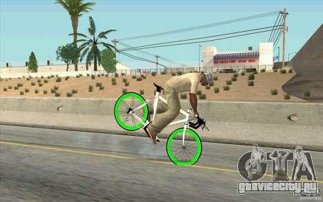 Fixie Bike для GTA San Andreas вид справа