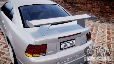 Ford Mustang SVT Cobra v1.0 для GTA 4 салон