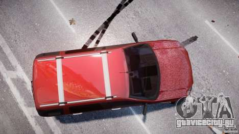 Ford EcoSport для GTA 4 вид сверху