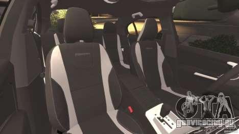 Volvo S60 R-Designs v2.0 для GTA 4 вид изнутри