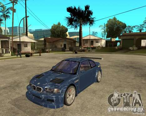 BMW M3 GTR из Need for Speed Most Wanted для GTA San Andreas