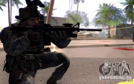 Капрал Данн для GTA San Andreas третий скриншот