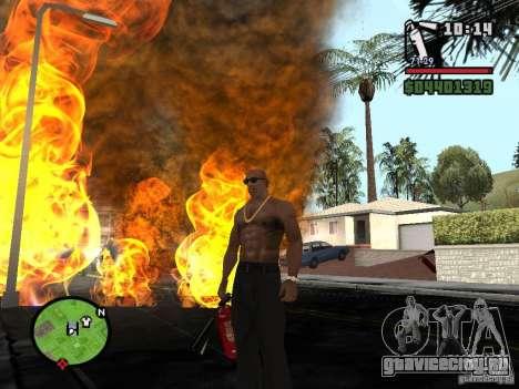 Новый огнетушитель для GTA San Andreas четвёртый скриншот