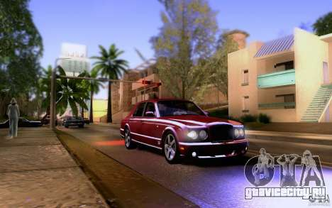 Bentley Arnage для GTA San Andreas вид сбоку