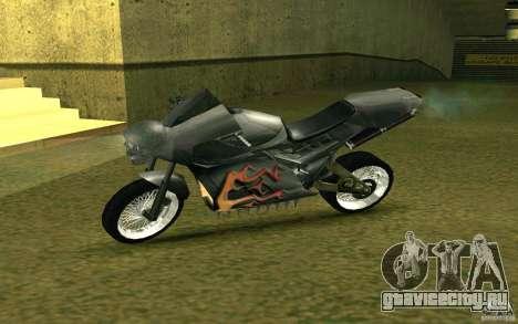 Мотоцикл из Alien City для GTA San Andreas