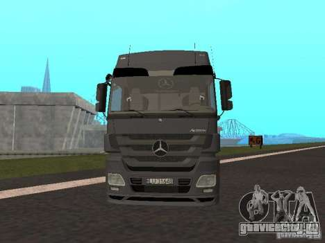 Mercedes-Benz Actros MP3 для GTA San Andreas вид слева