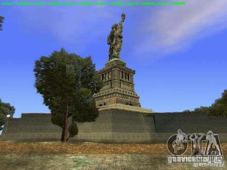 Статуя Свободы 2013 для GTA San Andreas шестой скриншот