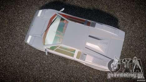Lamborghini Countach для GTA 4 вид справа