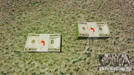 Денежные купюры США номиналом 5$ для GTA 4 второй скриншот