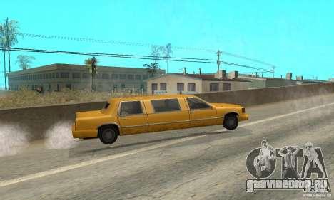 VIP TAXI для GTA San Andreas шестой скриншот