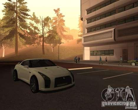 Nissan GT-R Pronto для GTA San Andreas вид справа