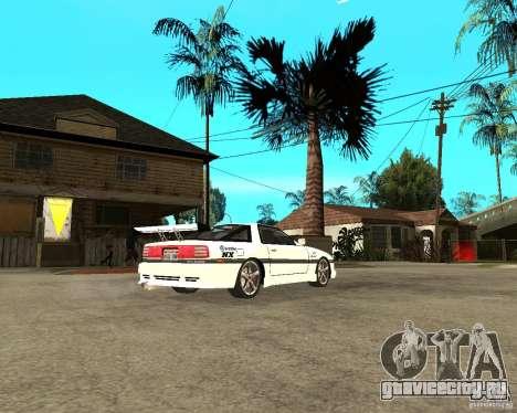 Toyota Supra MK3 Tuning для GTA San Andreas вид справа