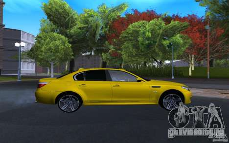 BMW M5 Gold Edition для GTA San Andreas
