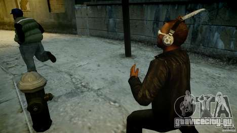 B.A.K. Knife для GTA 4 второй скриншот