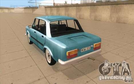Fiat 125p для GTA San Andreas вид сзади слева