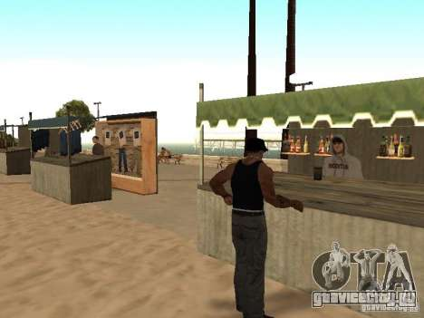 Рынок на пляже для GTA San Andreas девятый скриншот