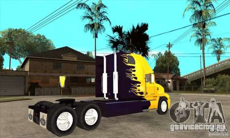 Mack для GTA San Andreas вид сзади
