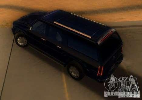 Cadillac Escalade ESV 2006 для GTA San Andreas вид сзади слева