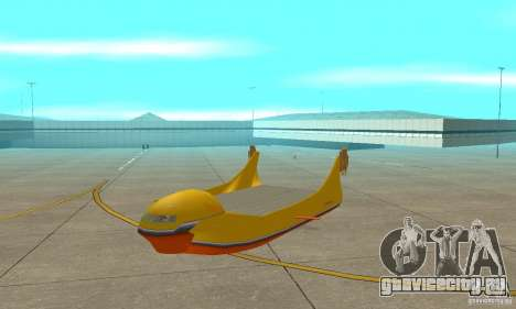 Воздушная платформа Air Carrier для GTA San Andreas вид слева