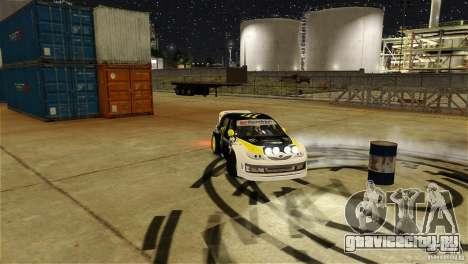 Subaru Impreza WRX STI Rallycross Monster Energy для GTA 4 вид снизу